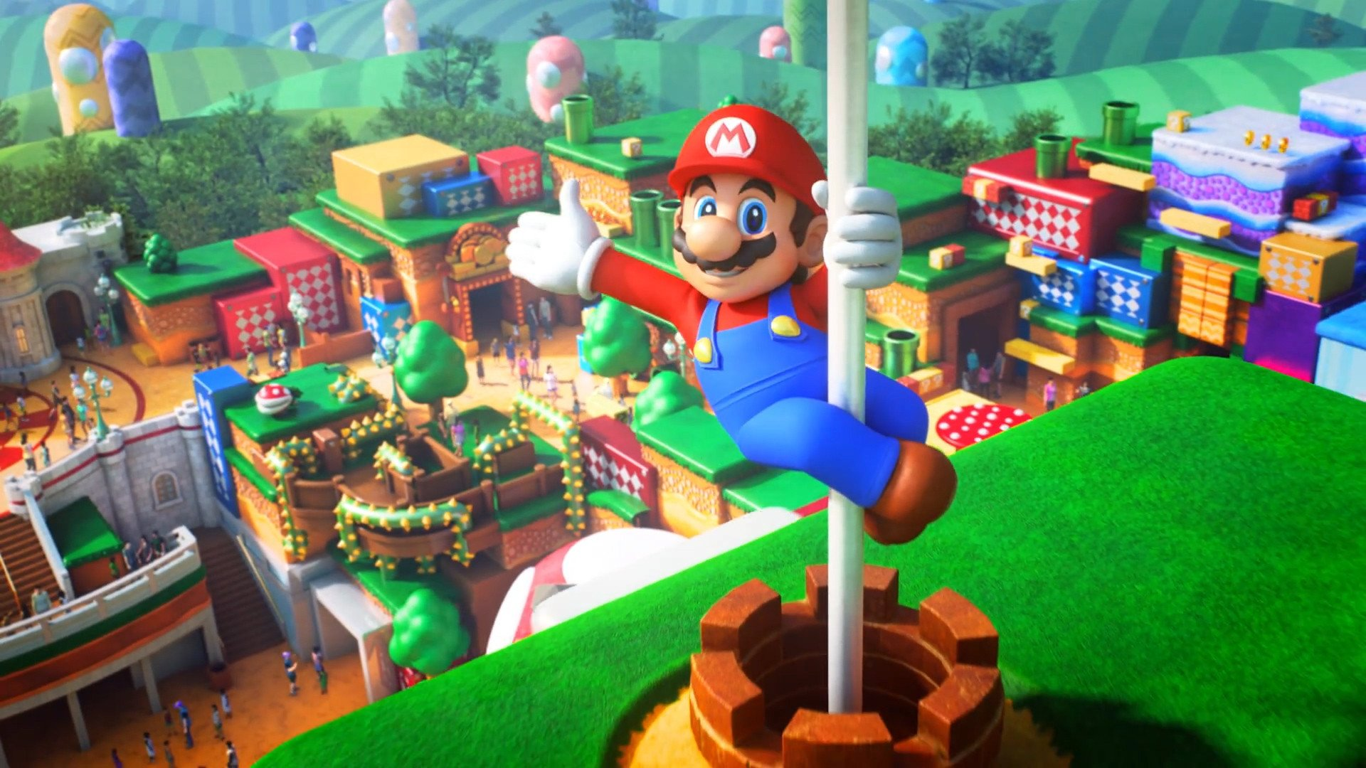 Super Nintendo World is set for a Spring 2020 opening in Osaka screenshot