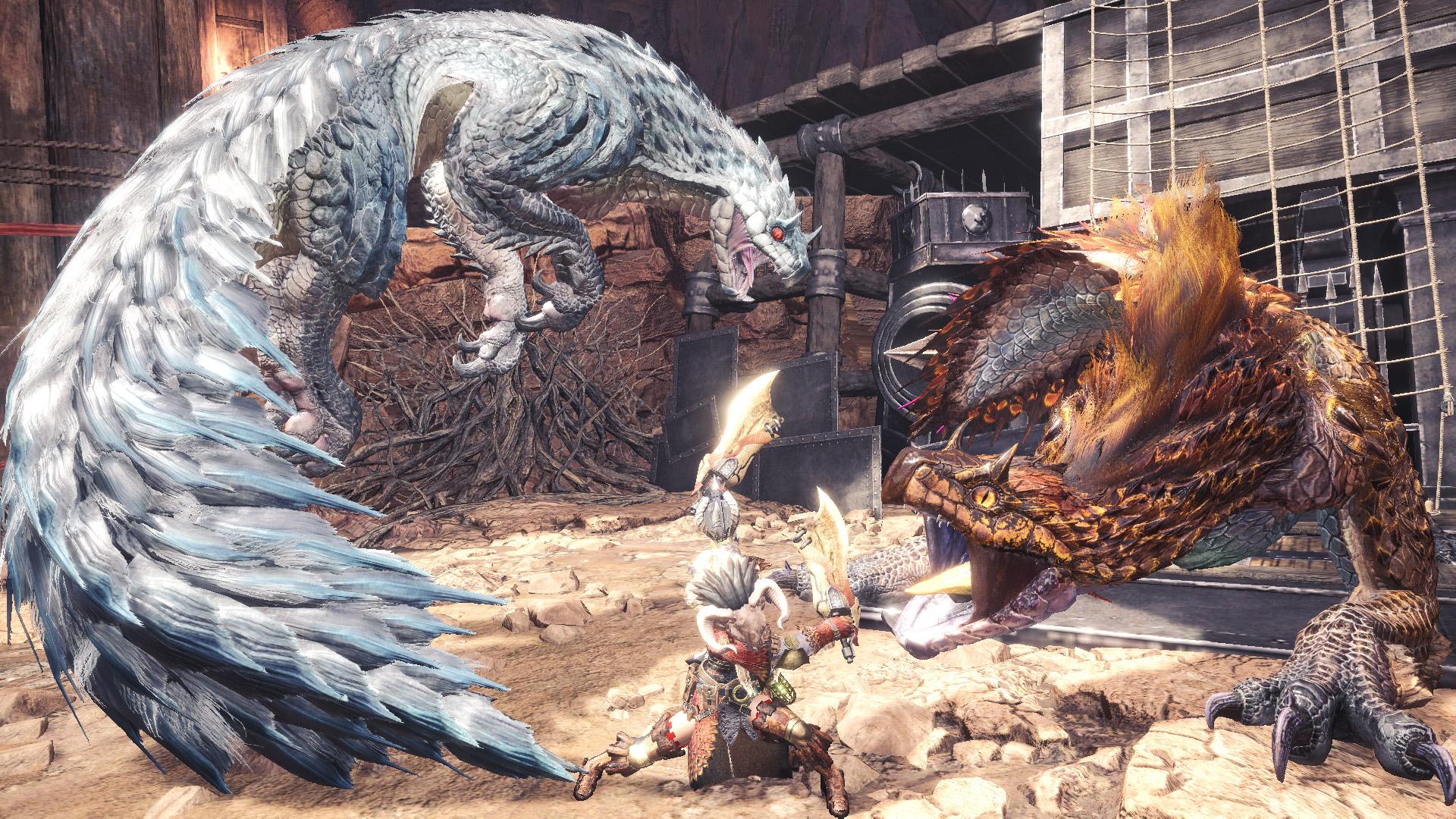 Monster Hunter World: Iceborne ships 2.5 million units during launch week screenshot