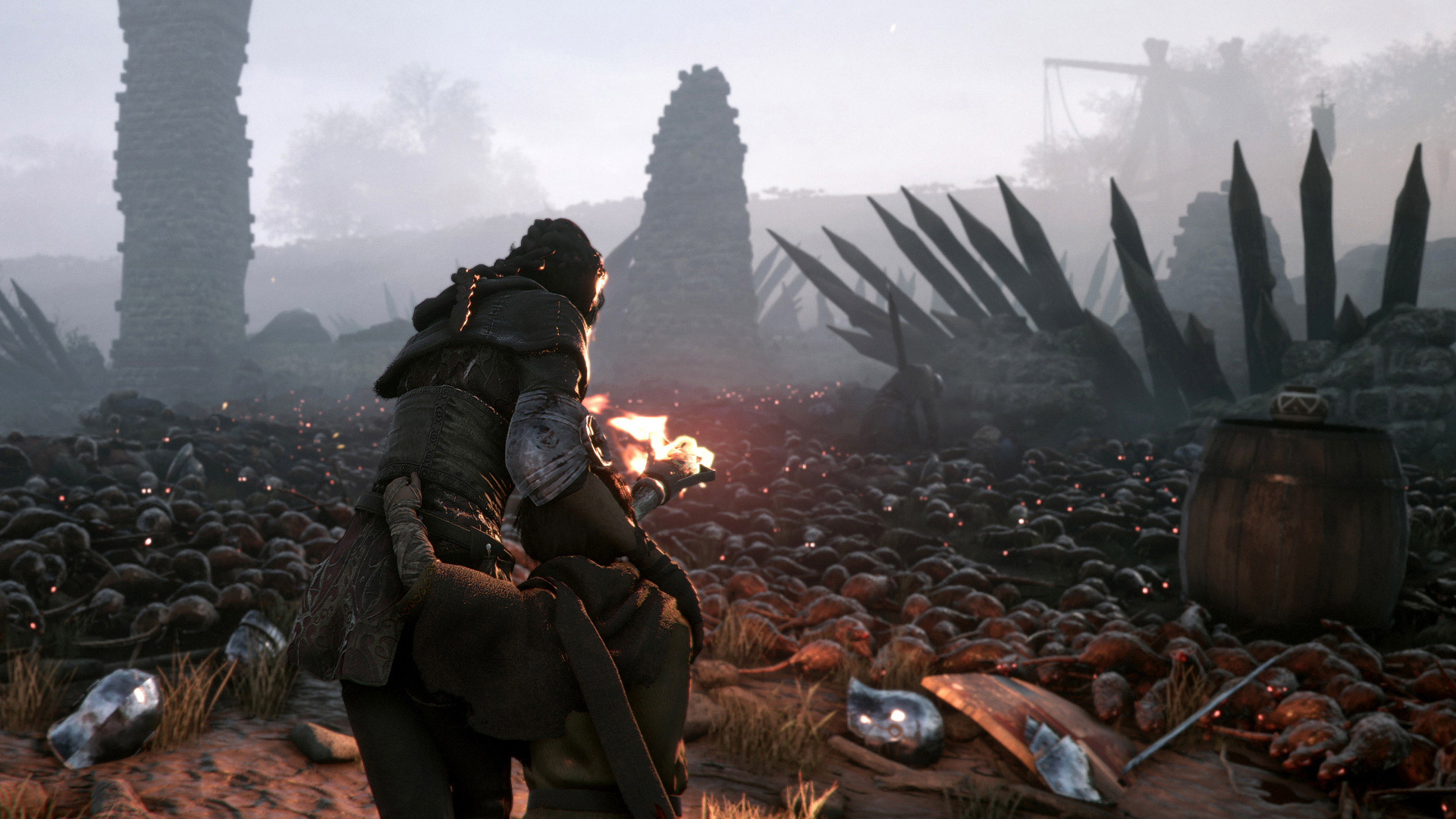 A Plague Tale: Innocence has a free trial covering chapter one screenshot
