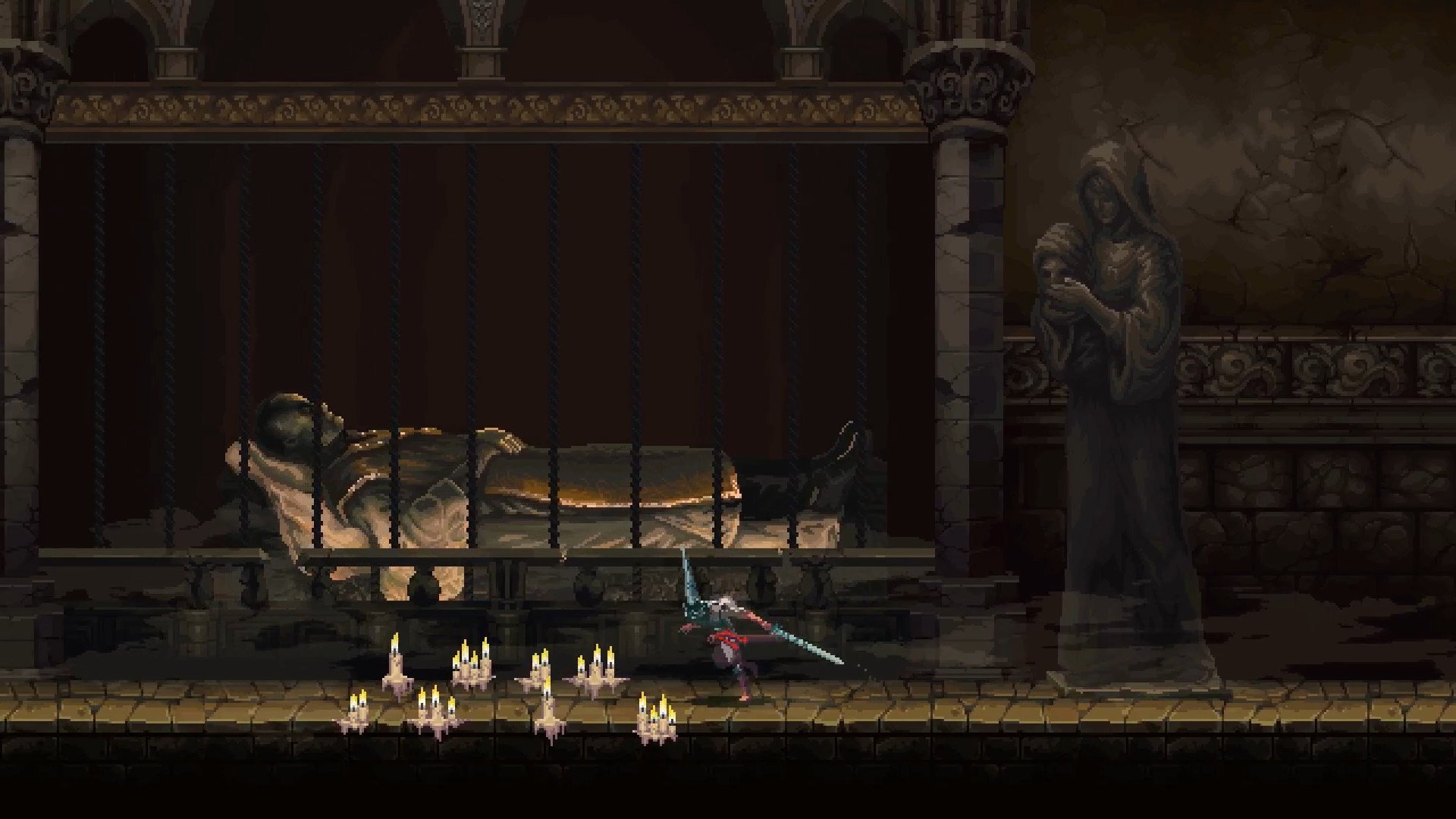 Blasphemous lets you see multiple endings in one playthrough (and that's swell) screenshot