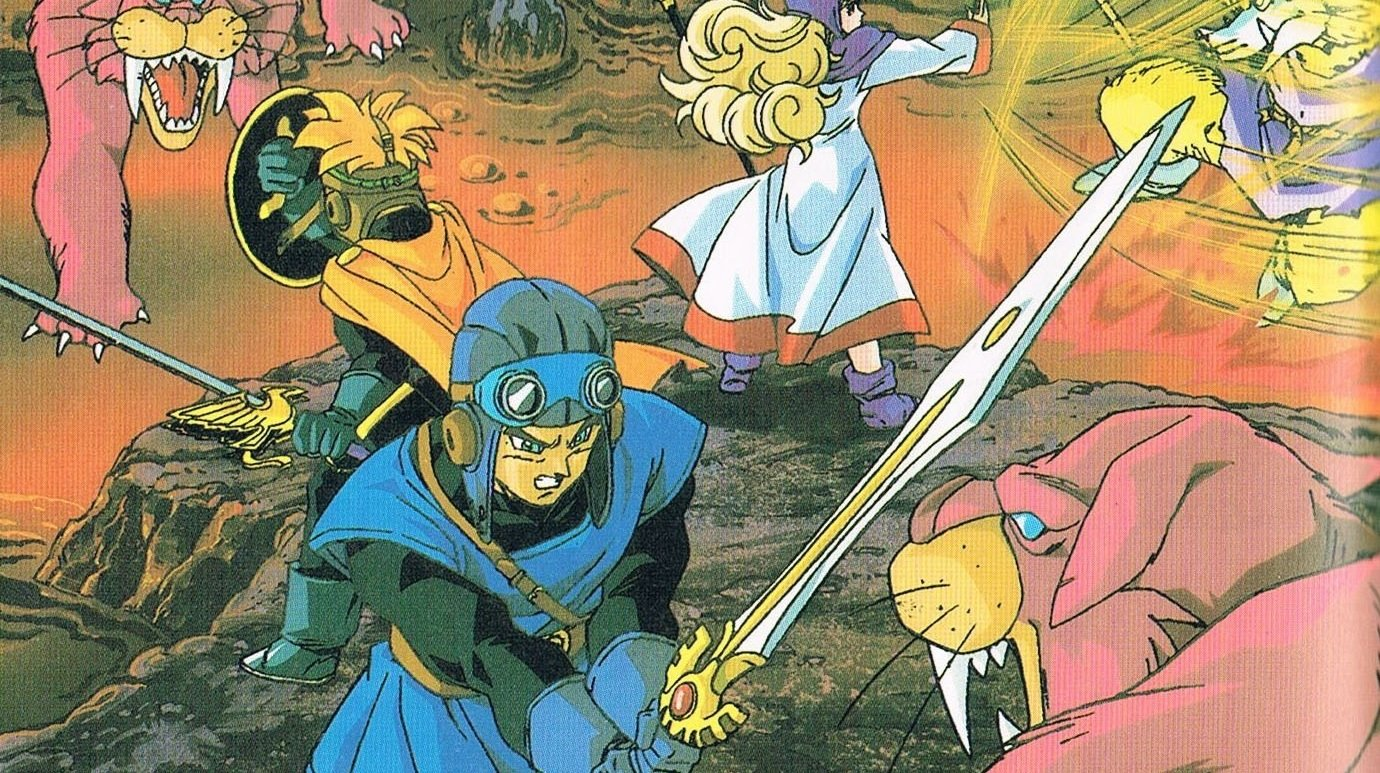 Dragon Quest I, II, and III on Switch will be available worldwide screenshot
