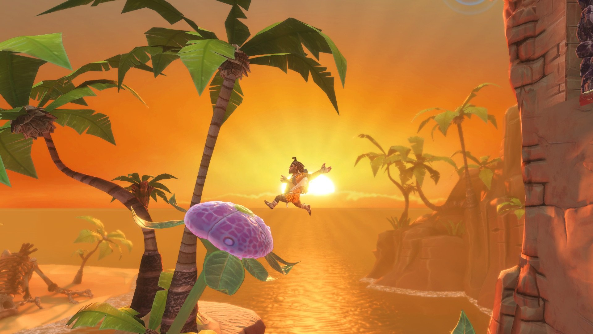 Contest: Give a caveman a jetpack with Jet Kave Adventure screenshot