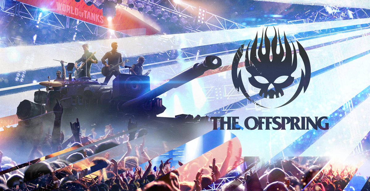 The Offspring will perform in World of Tanks and it's officially a trend