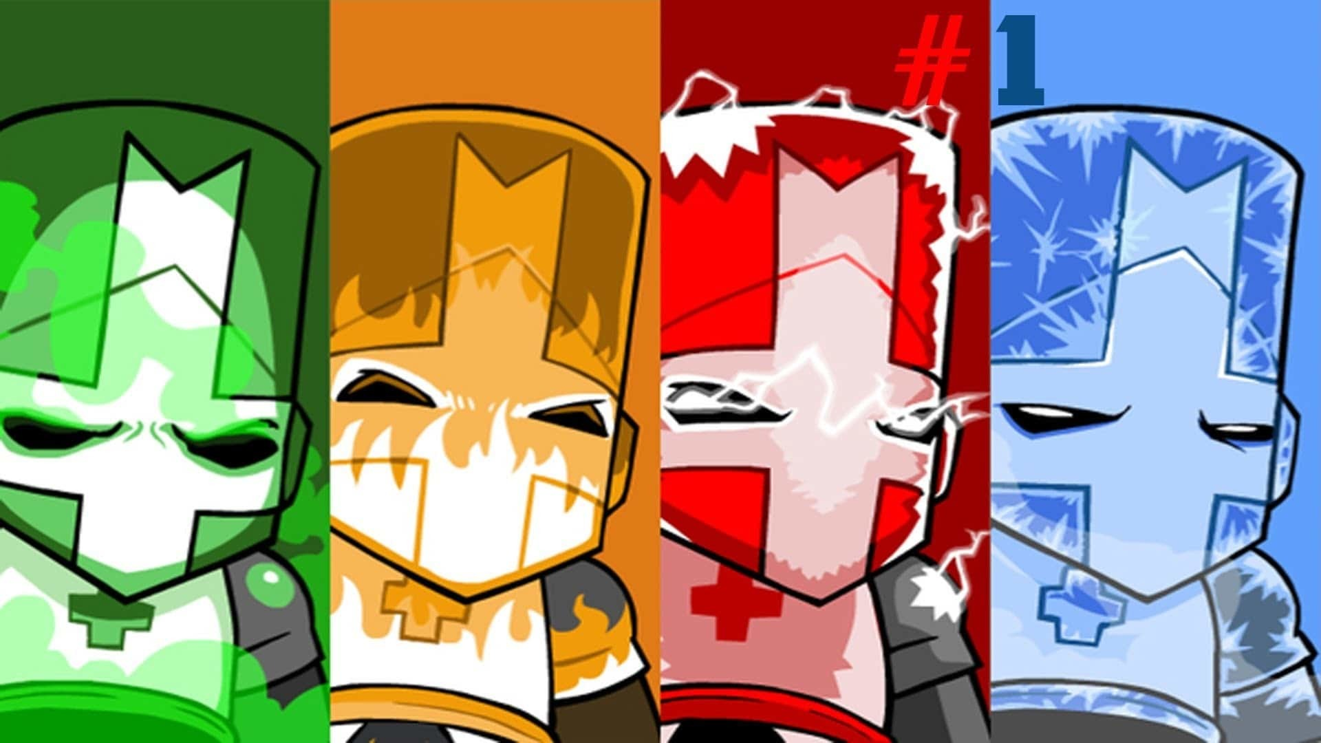 Castle Crashers Remastered on Switch does support multiple profiles, despite early concerns screenshot