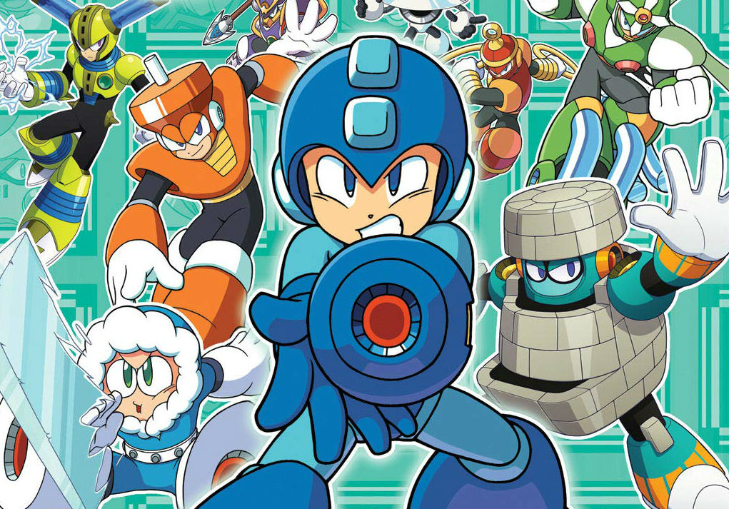 There's going to be a new Robot Master Field Guide with Mega Man 11 characters included screenshot