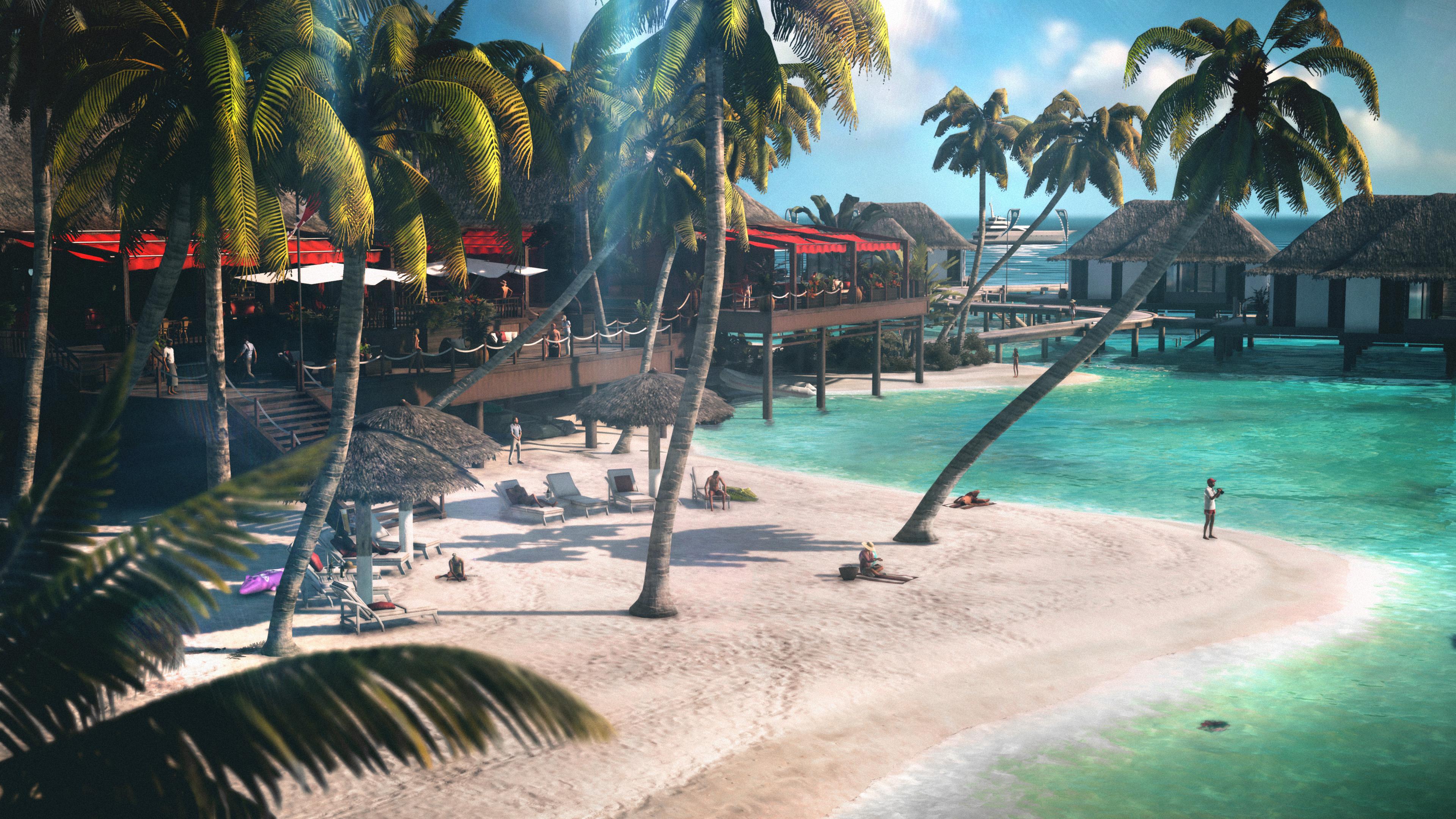 Hitman 2's final DLC pack takes 47 to a tropical island screenshot
