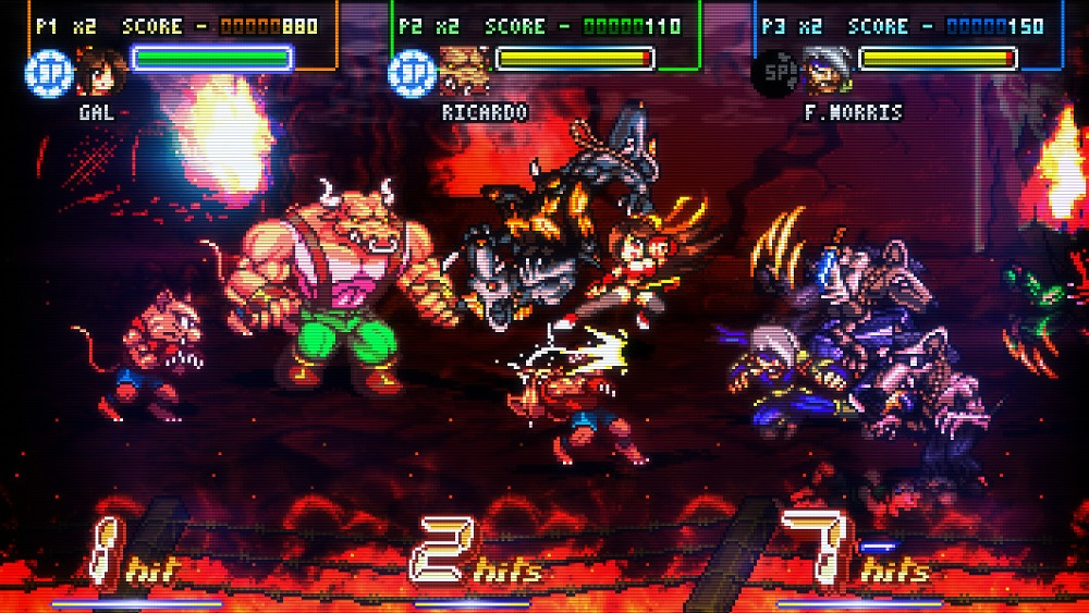 Fight'N Rage, one of the best brawlers ever made, is headed to Xbox One and Switch next week screenshot