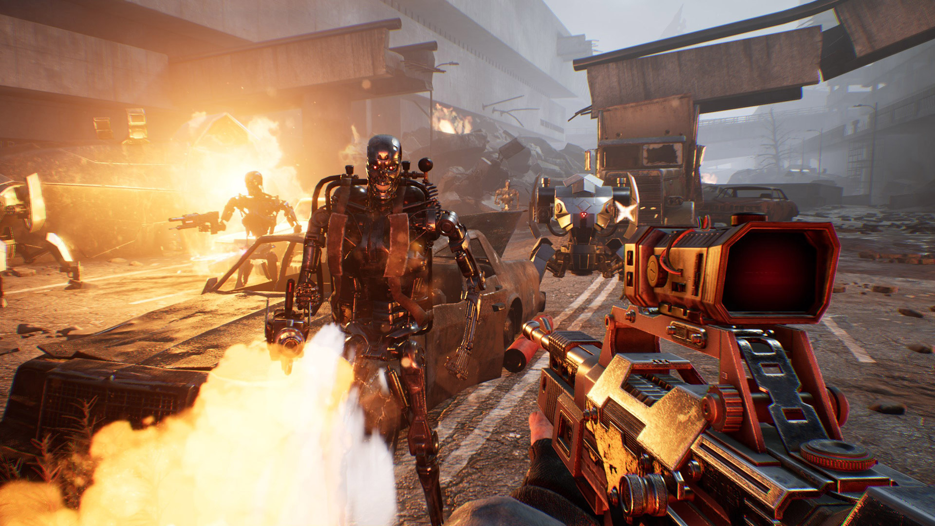 Terminator: Resistance looks about as dubious as you'd expect screenshot