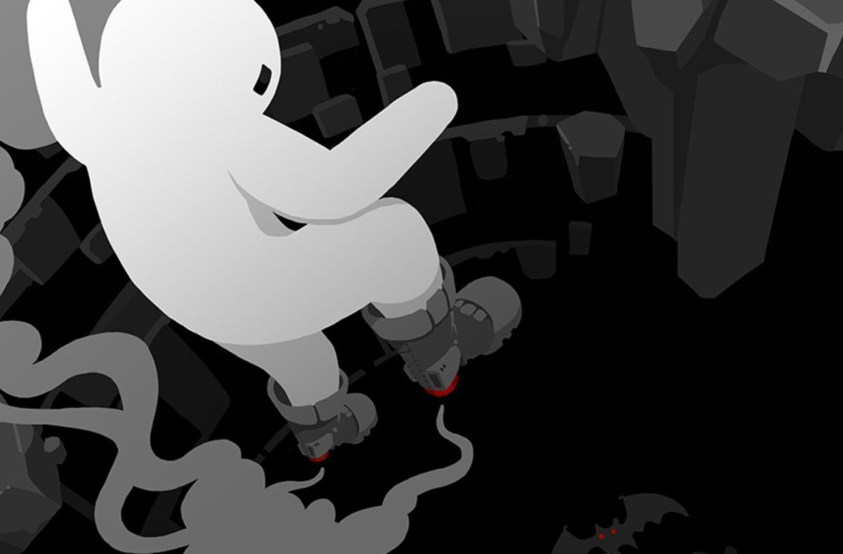 Downwell is free on Android screenshot