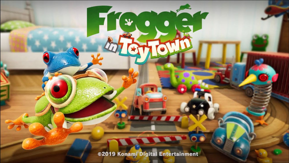 Review: Frogger in Toy Town screenshot