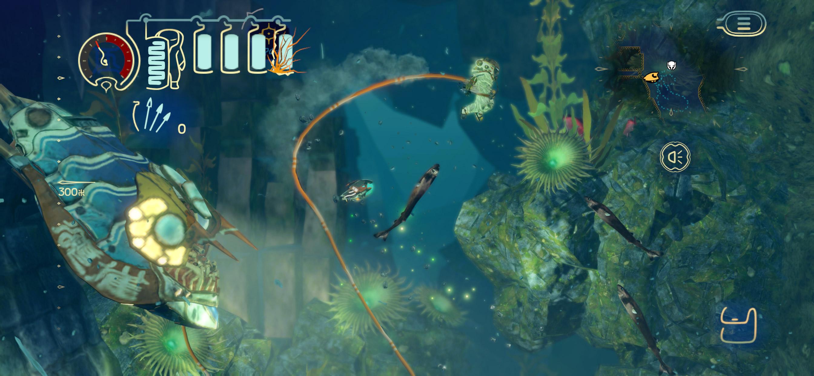 Review: Shinsekai: Into the Depths screenshot