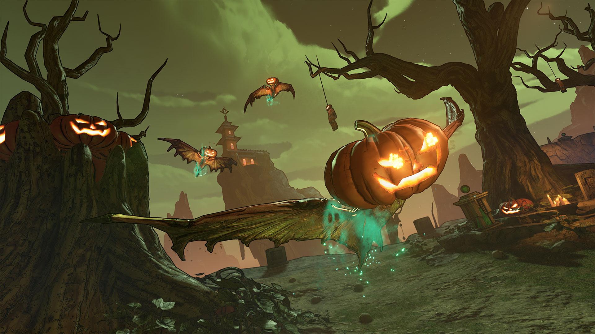Borderlands 3's Halloween event includes Hecktoplasm, a skeleton boss, and new Legendary weapons screenshot
