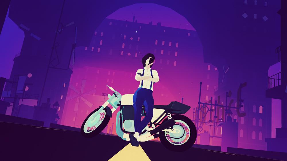 Review: Sayonara Wild Hearts screenshot