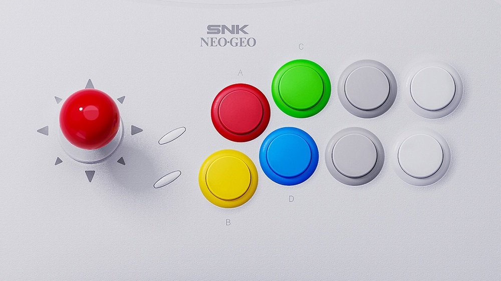 Neo Geo Arcade Stick Pro reveals built-in game list and connectivity features screenshot
