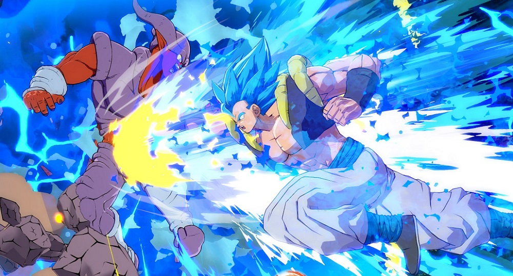 Gogeta will be bringing the pain to Dragon Ball FighterZ tomorrow screenshot