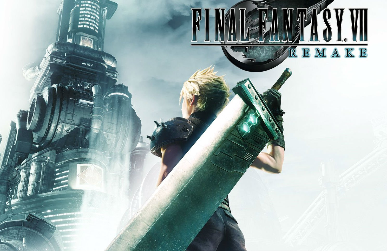 Final Fantasy VII Remake's box art aims for the nostalgia tendon, does not mention 'Part 1' screenshot