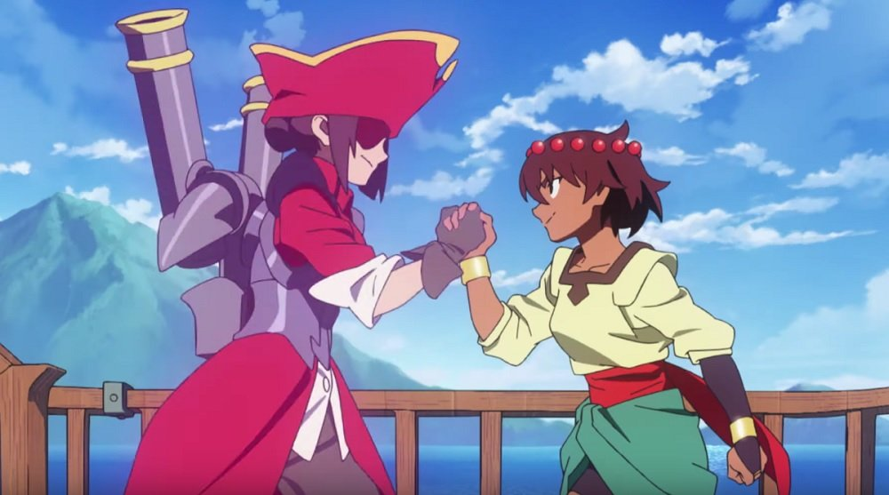 Indivisible will see Ajna call on a myriad of allies in battle screenshot