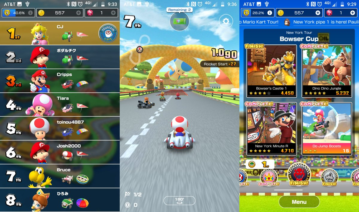 Image result for mario kart tour