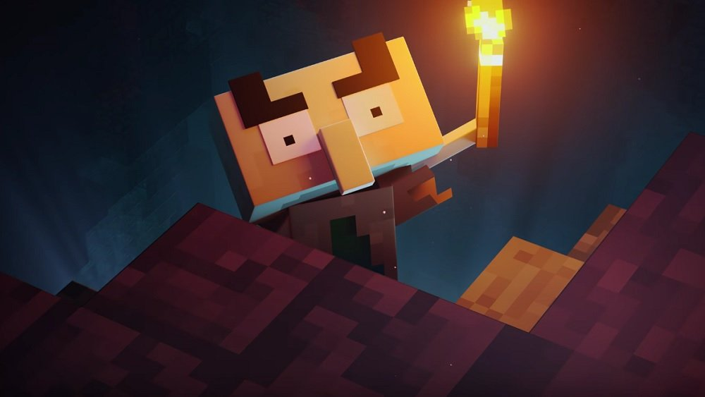 Minecraft Dungeons Cinematic Is Holding Out For A Hero