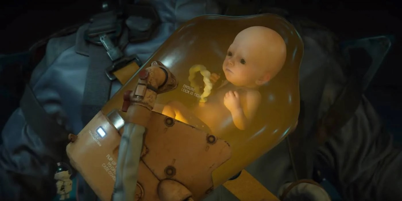 You can hear BB in Death Stranding through the PS4 controller speaker screenshot