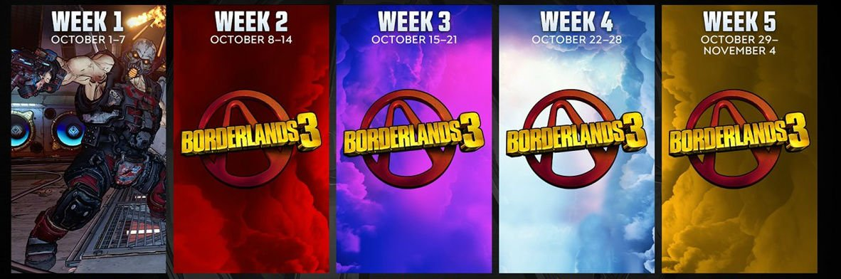 Gearbox is celebrating a decade of Borderlands with five weeks of events screenshot