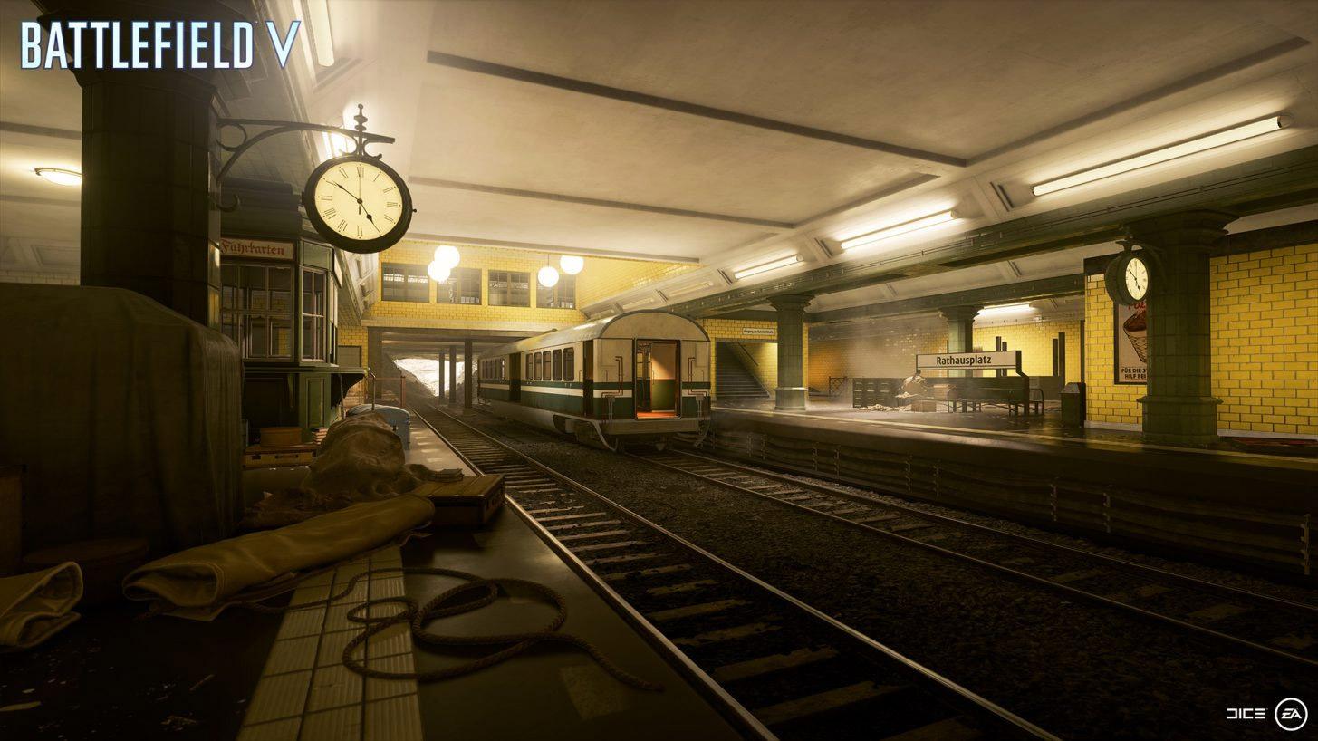 Don't get tunnel vision in Battlefield V's Operation Underground map screenshot