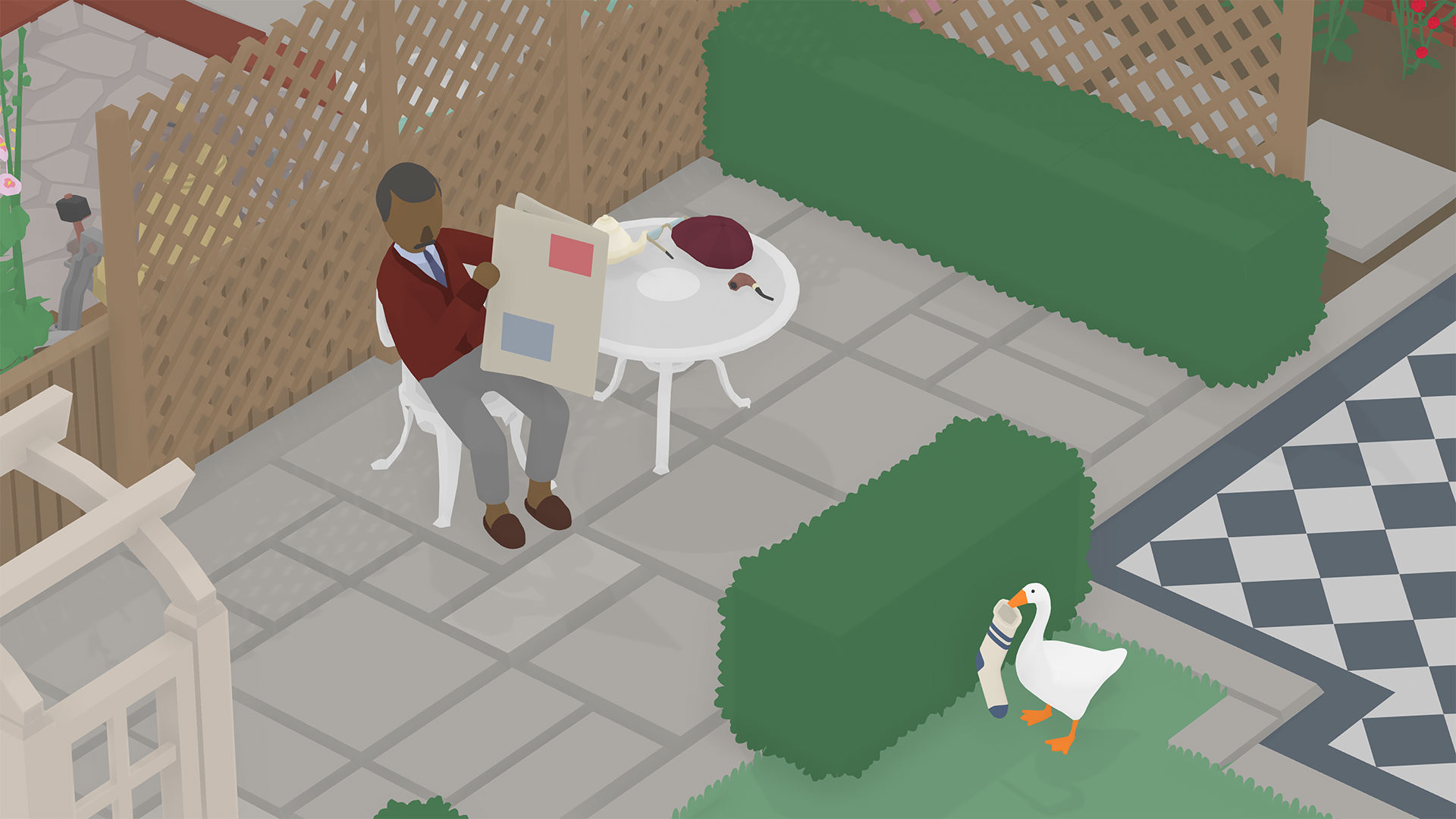 Untitled Goose Game developer catered to players who 'look for ways of making mischief' screenshot