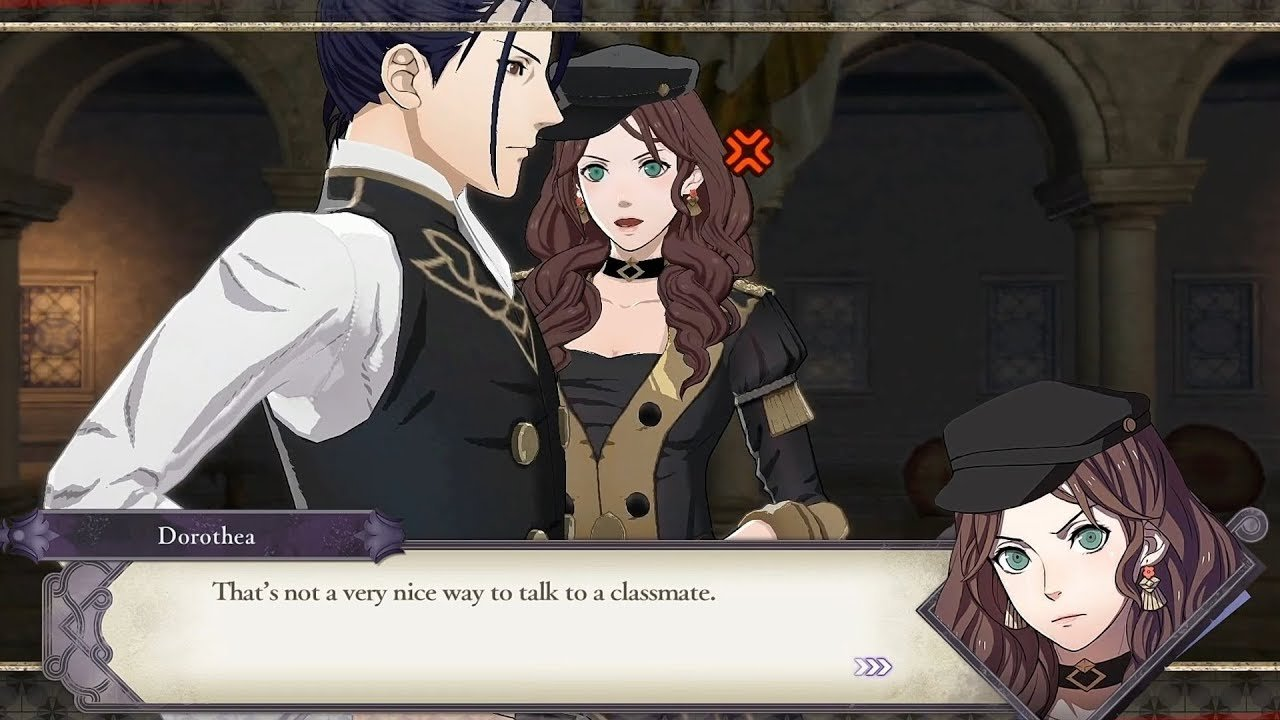 Dorothea beats Edelgard as the official Fire Emblem: Three Houses top character, but the Black Eagles still rule the roost screenshot