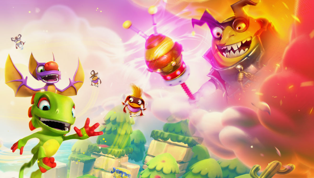 Nintendo Download: Yooka-Laylee and the Impossible Lair screenshot