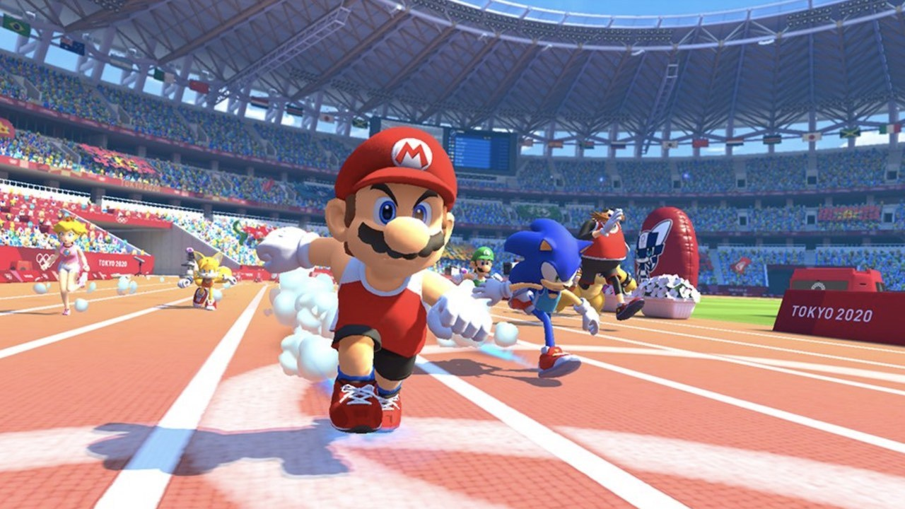Here are all of the 3D and 2D retro events from Mario & Sonic at the Olympic Games Tokyo 2020