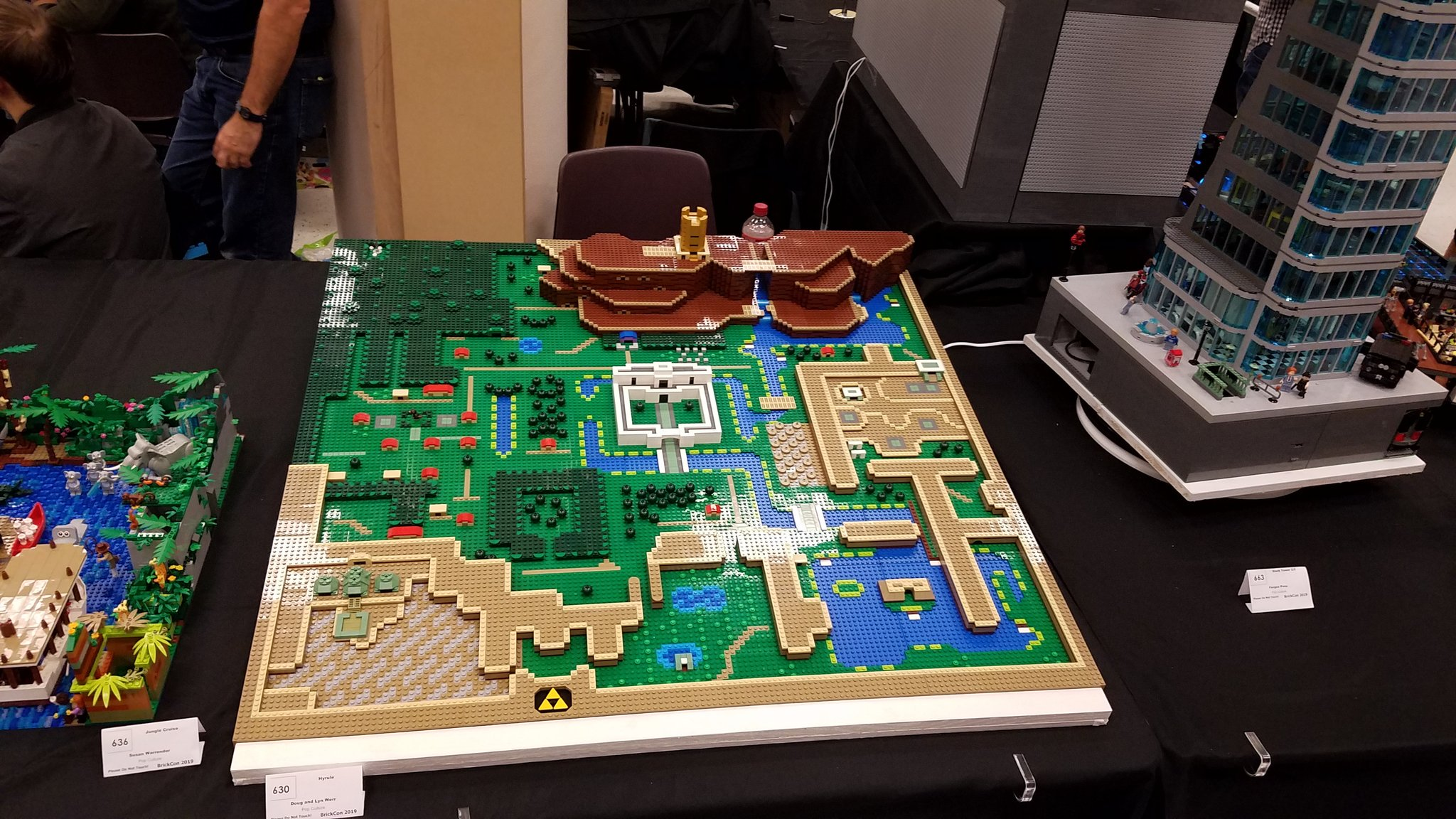 This Zelda Link To The Past Map Made Of Lego Just Makes Me Want