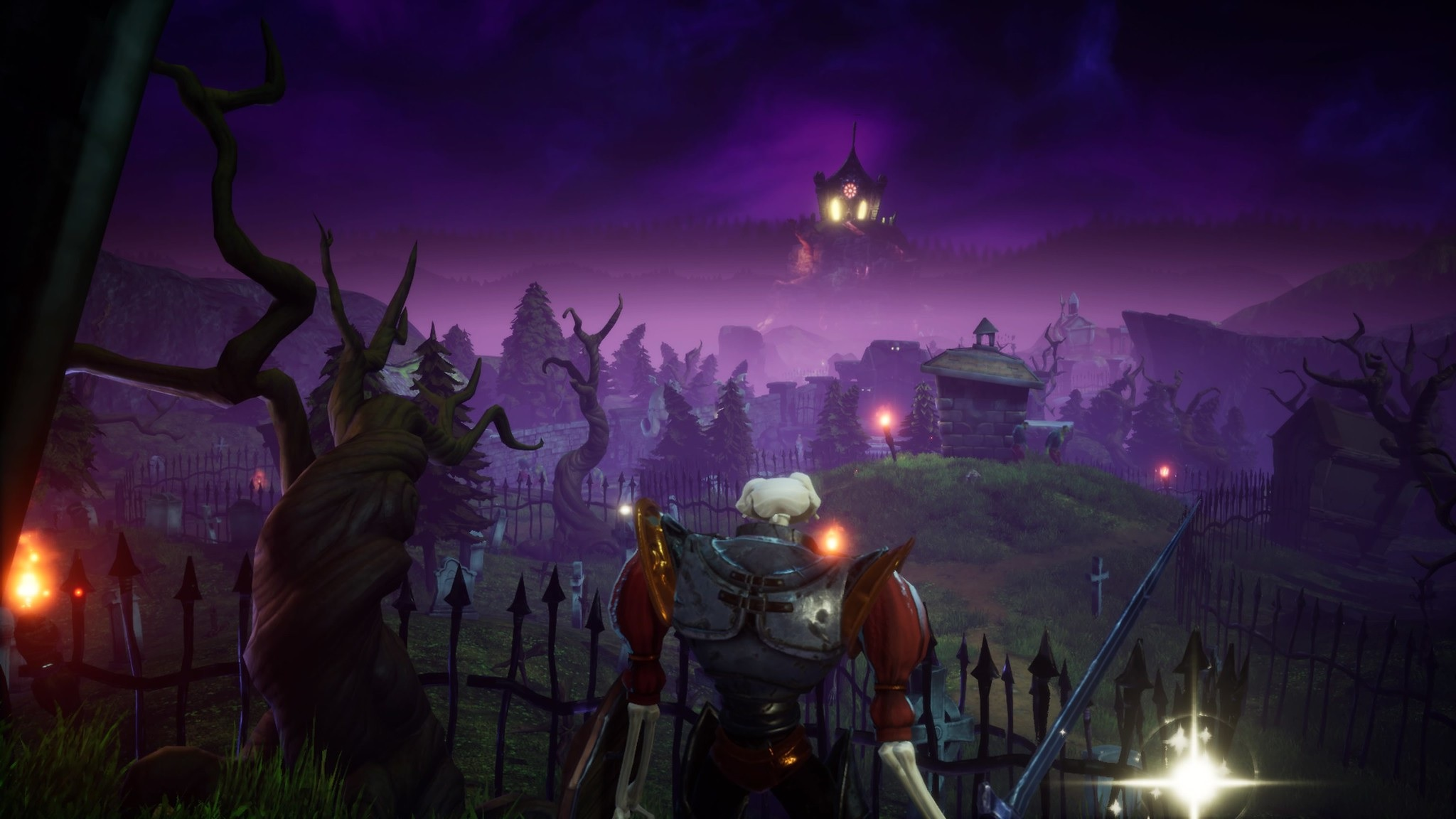 Here's how MediEvil's new demo compares to the original screenshot