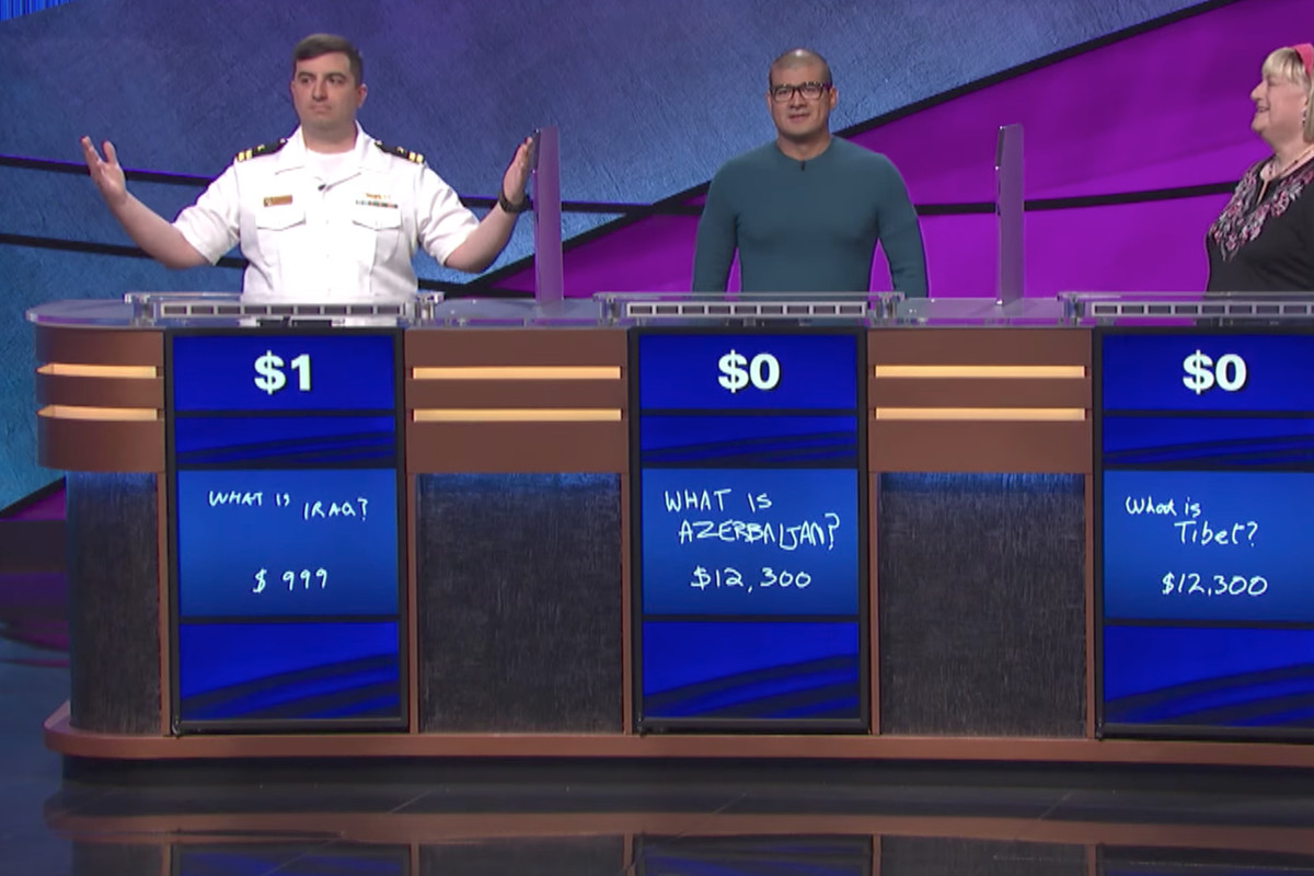 Jeopardy got tricked into running a fake Tetris answer screenshot