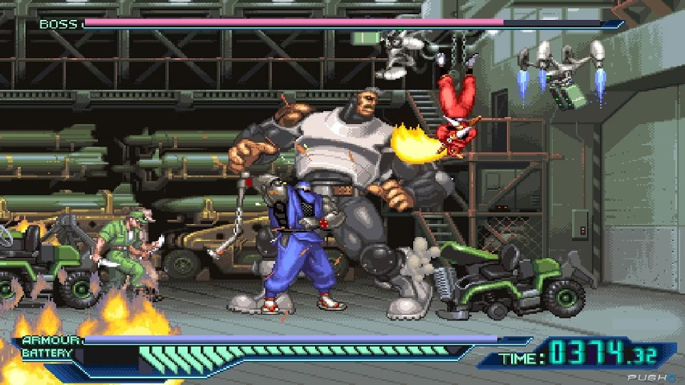 The Ninja Saviors: Return of the Warriors hits North America on PS4 and Switch next week