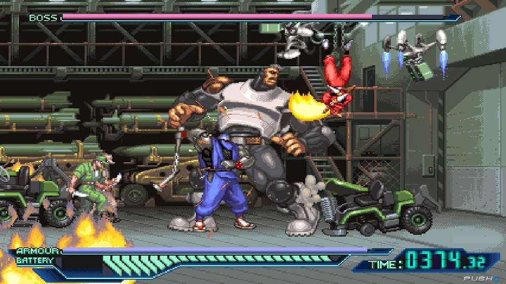 The Ninja Saviors: Return of the Warriors hits North America on PS4 and Switch next week screenshot