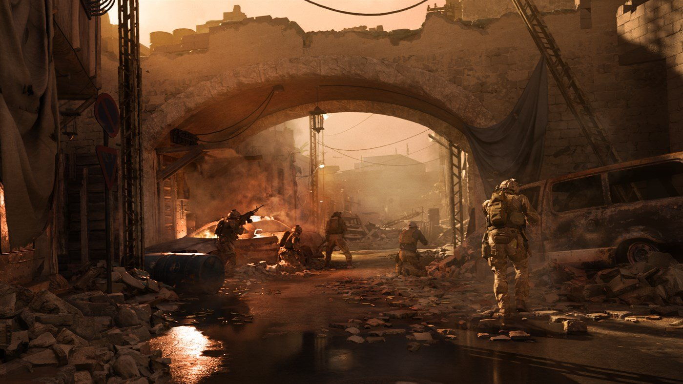 Call of Duty: Modern Warfare is a 175GB install on PC screenshot
