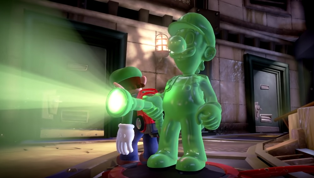 Luigi's Mansion Japanese overview trailer features six minutes of ghoulish action screenshot