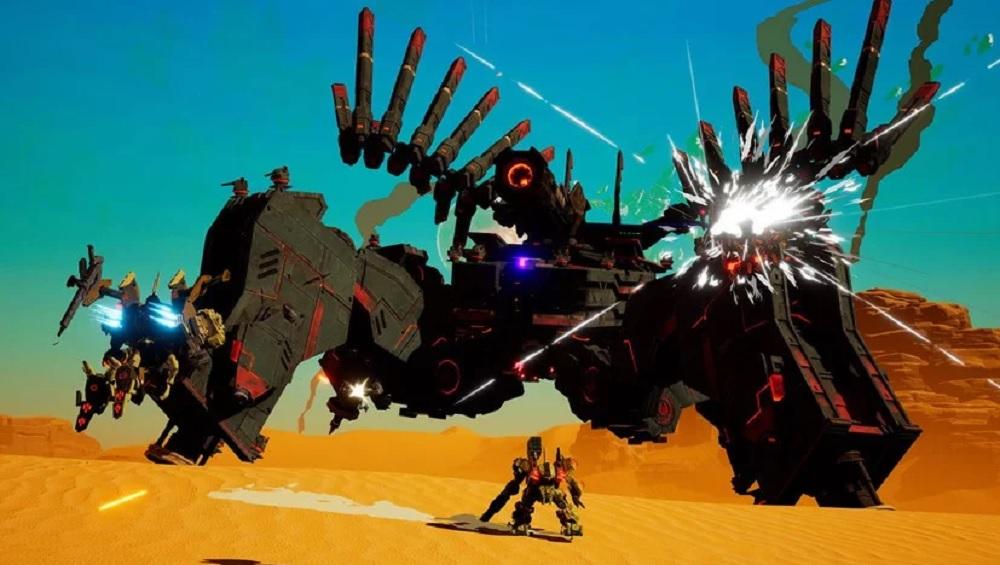 Daemon x Machina update brings PvP combat, Duel mode and bug fixes screenshot