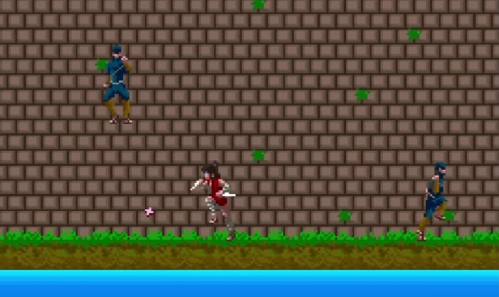 Classic arcade actioner The Legend of Kage resurfaces on Nintendo Switch screenshot