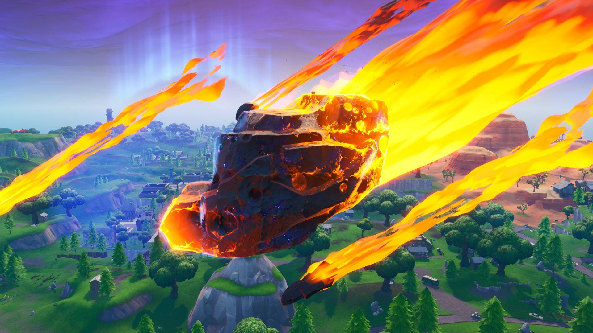 Fortnite will be back Tuesday. Maybe. Probably. Hell, we're just guessing screenshot
