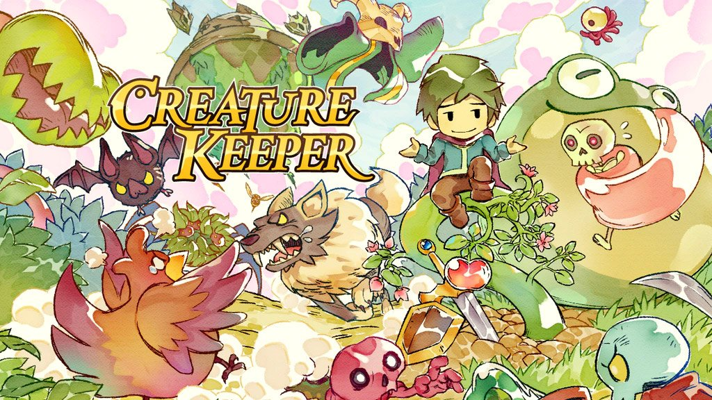 Creature Keeper is a Zelda-inspired adventure about taming monsters