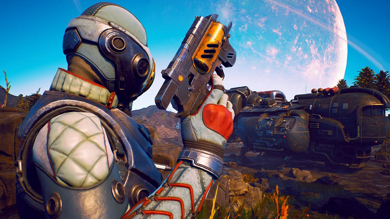 You're gonna spend way too long making a character in The Outer Worlds screenshot