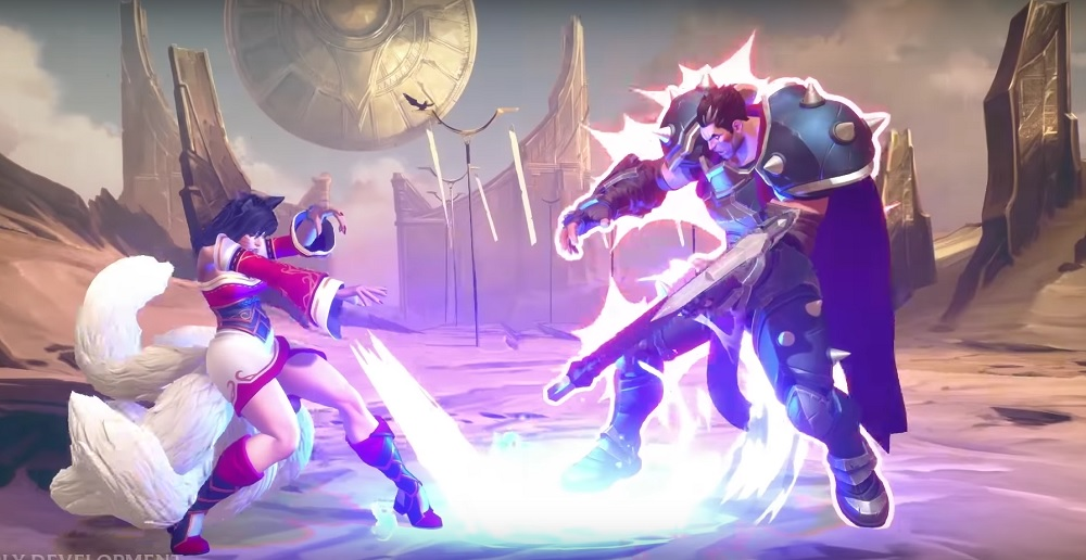 Riot Games offers first glimpse of League of Legends fighter screenshot