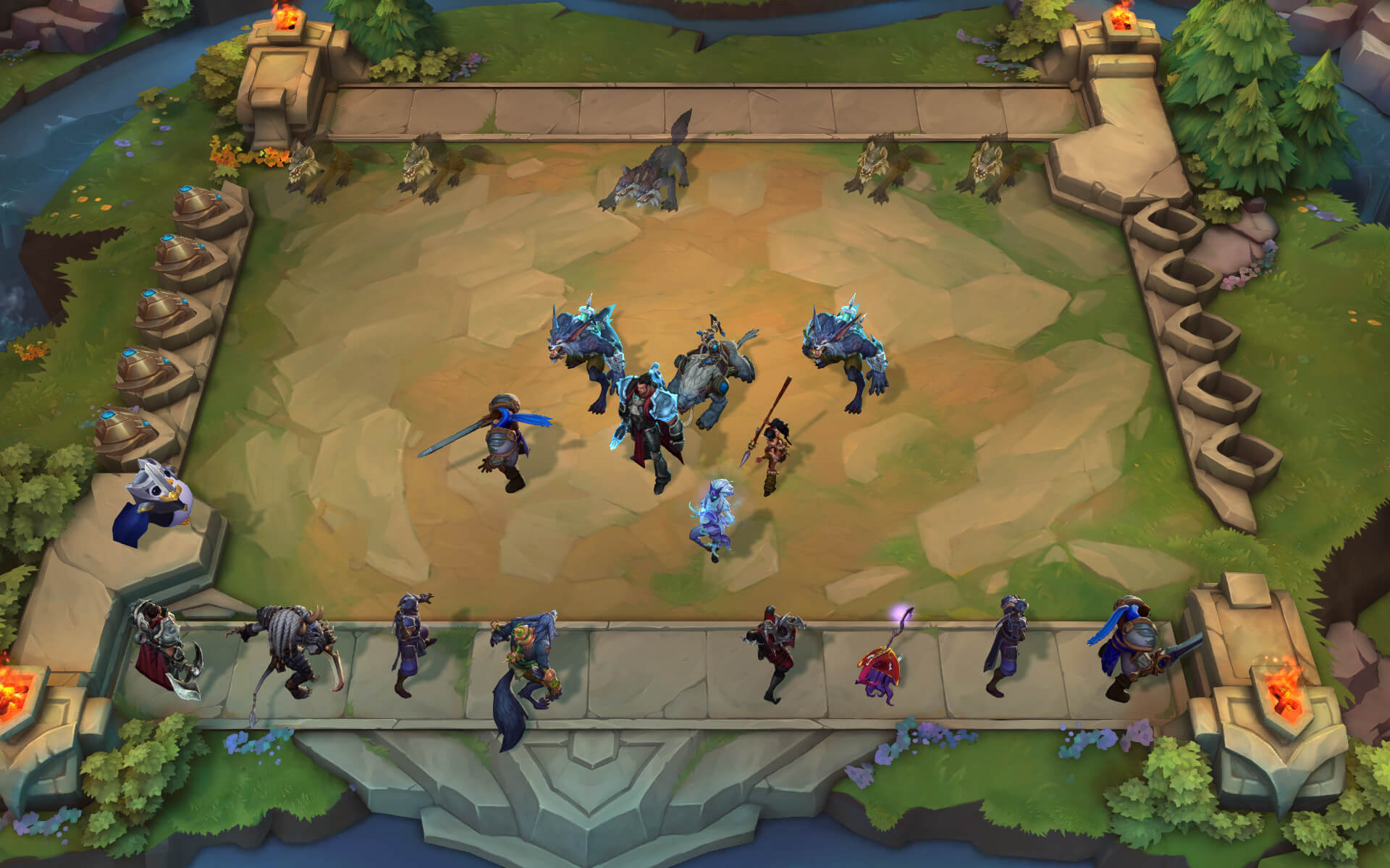 League of Legends adjacent autobattler Teamfight Tactics is coming to mobile devices screenshot