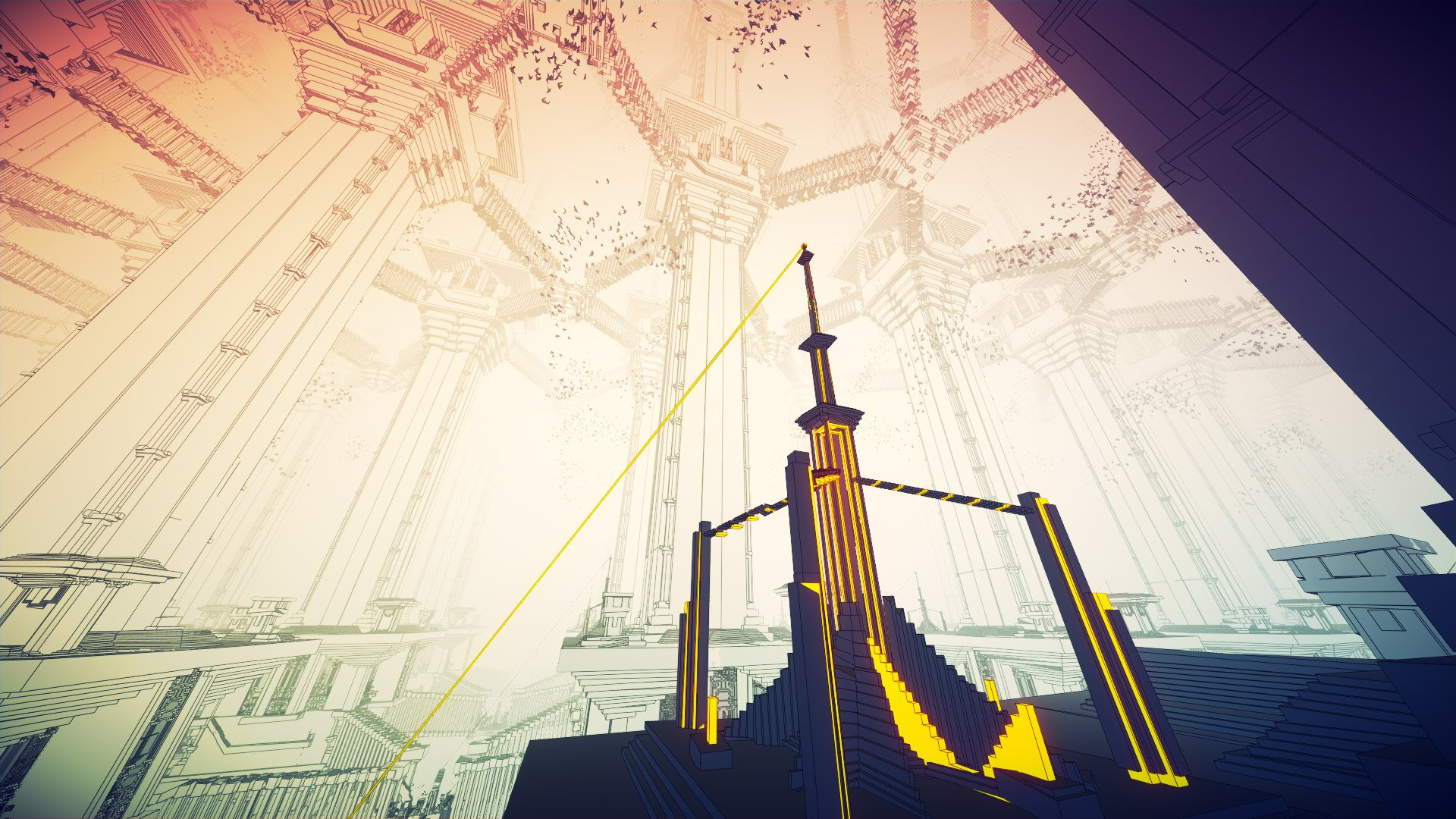 Manifold Garden is finally done and it's out this week screenshot
