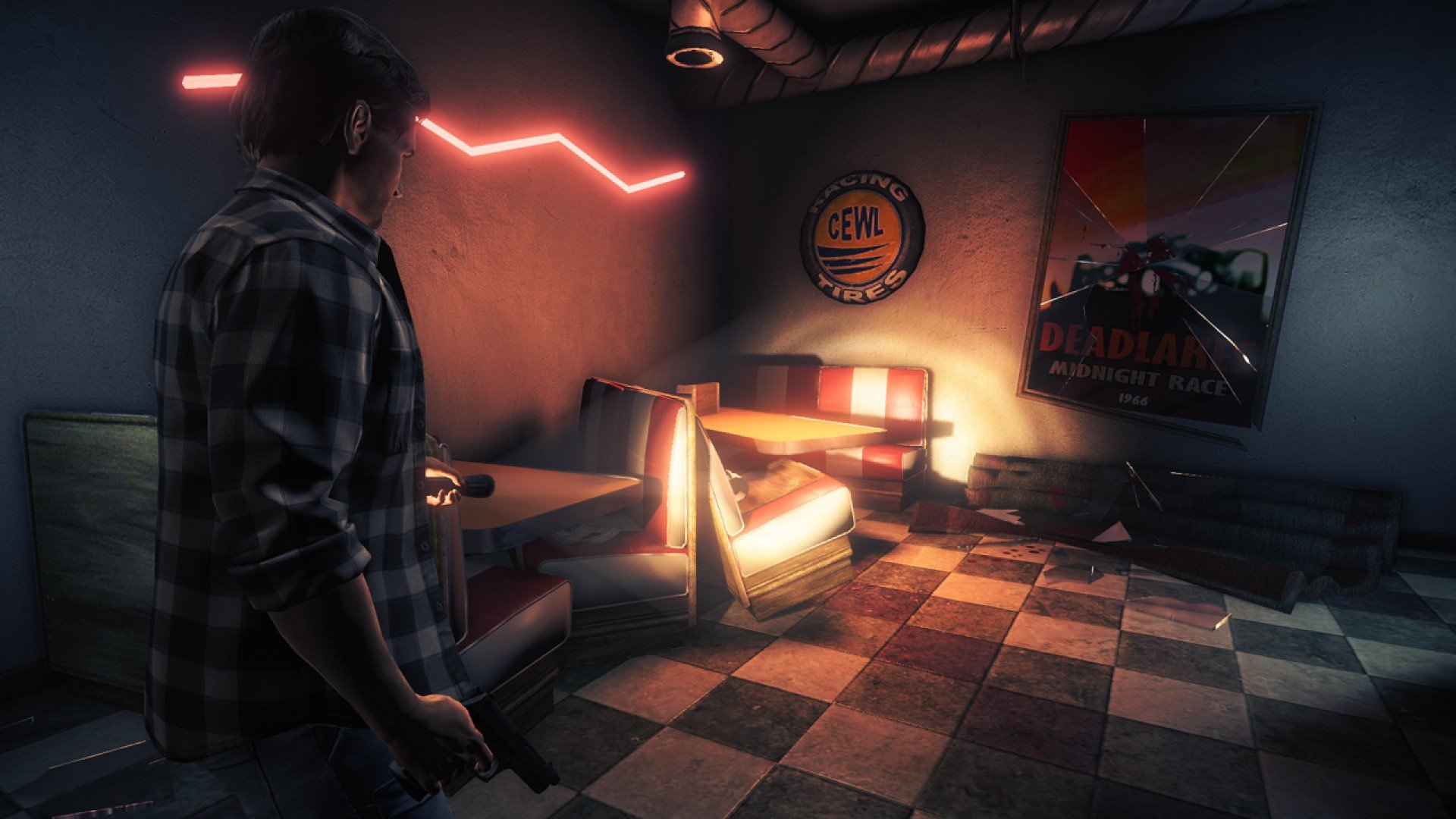 You should really pick up Alan Wake's American Nightmare for free screenshot