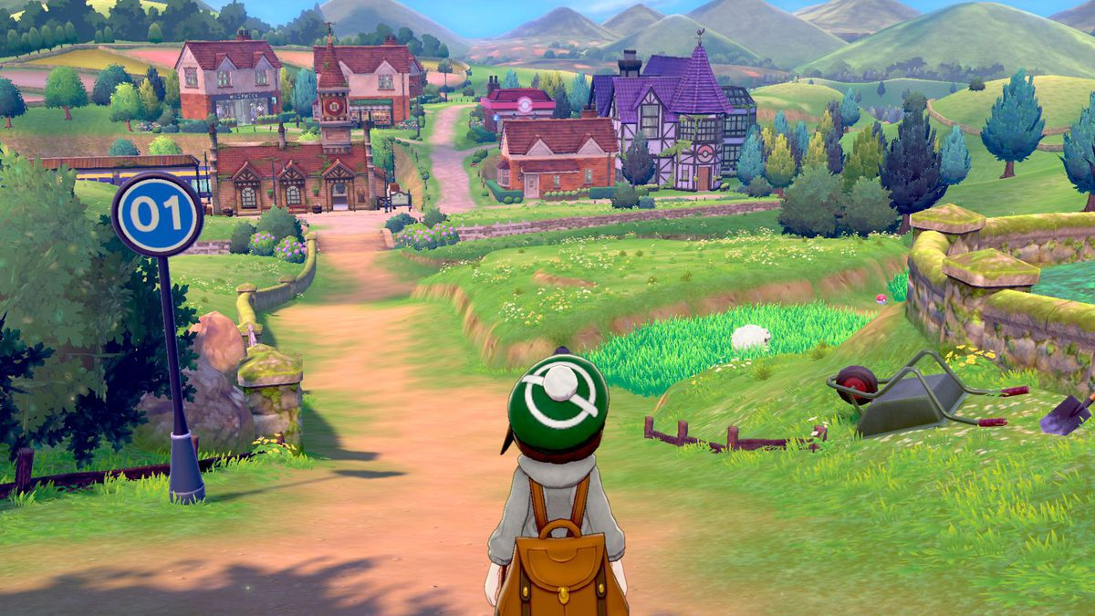 Pokemon Sword & Shield's Wild Area is 'about the size of two regions from Zelda: Breath of the Wild' screenshot