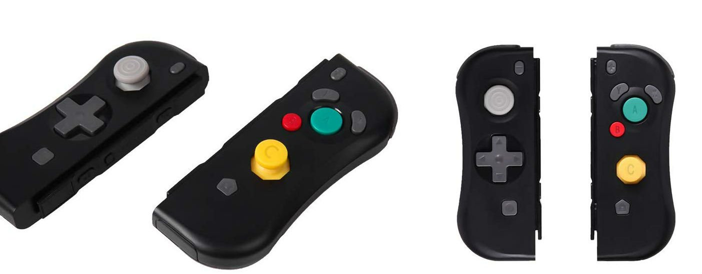 Oh good, there's a GameCube style Joy-Con out now screenshot
