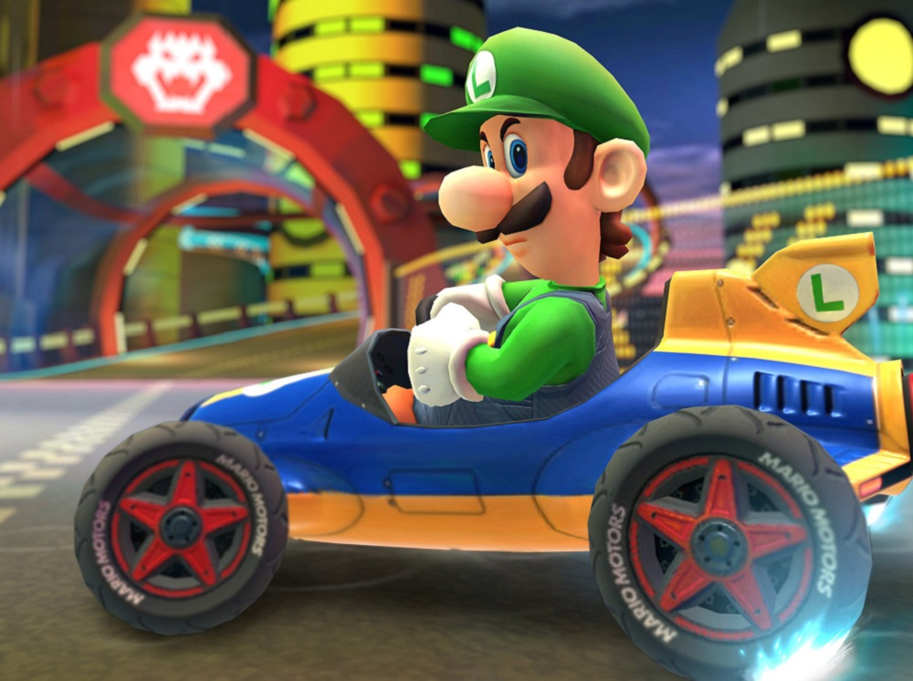 Luigi And His Death Stare Will Finally Arrive In Mario Kart