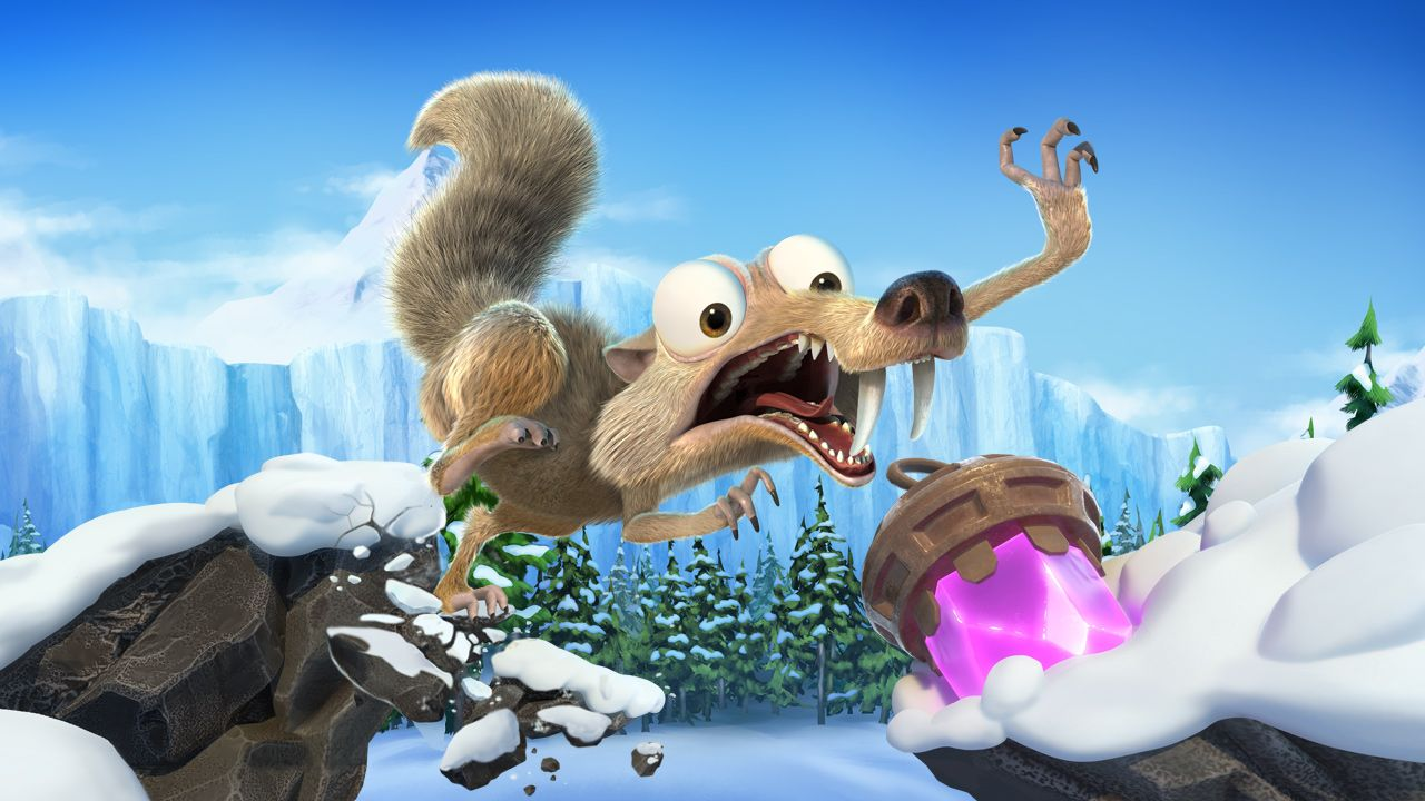 Ice Age: Scrat's Nutty Adventure has raw potential, but is let down by performance issues on Switch screenshot